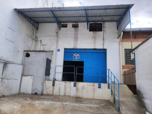 Imagem 1 de 9 de Ótimo Galpão Para Locação, 300 M², 2 Vagas - Planalto - São Bernardo Do Campo/sp - 83410