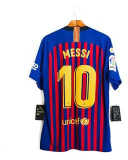 Camisa Futebol Masculino Barcelona 18/19 Nike Vapor Messi