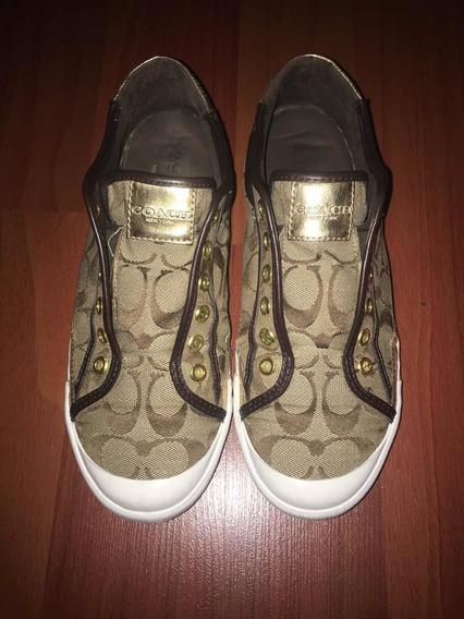 Zapatillas Coach Importadas. Excelente Estado. 39 (26 Cm)