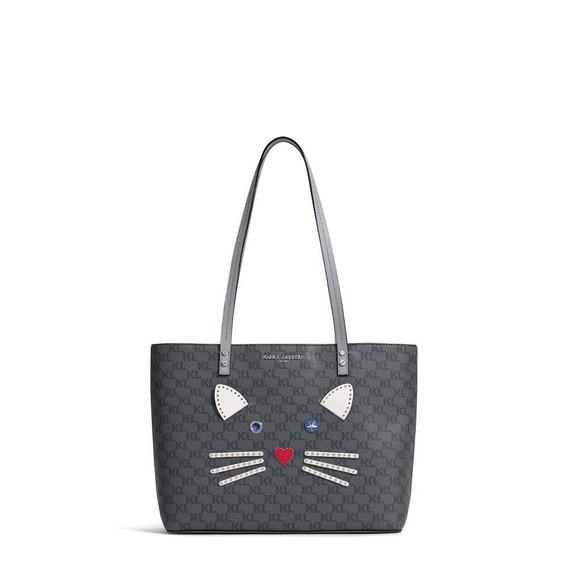 Karl Lagerfeld Maybelle Monogram Cat Tote Original