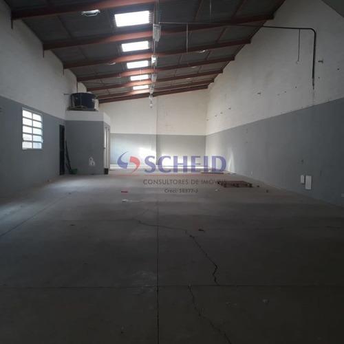 Imagem 1 de 6 de Ótimo Galpão  Industrial, Em Boa Localização - Mr77104