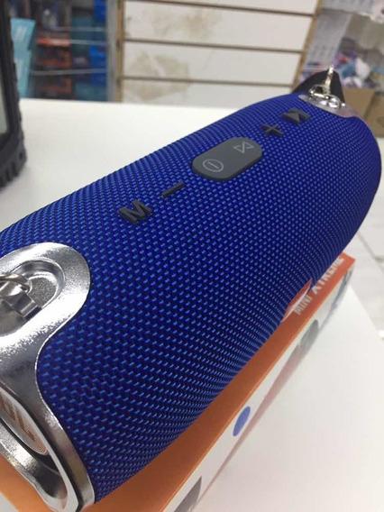 Caixa De Som Bluetooth Resistente À Água + Bandoleira+brinde