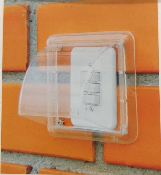 Proteção Tomada Interruptor 4 X 2 Área Externa Dryplug Simpl