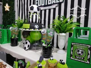 Futbol Candy Bar + Ambientacion Mesas Tematicas