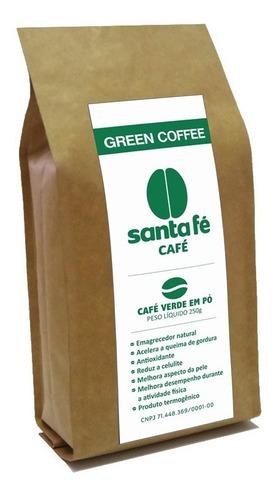 Café Santa Fé Café Verde Moído Emagrecedor
