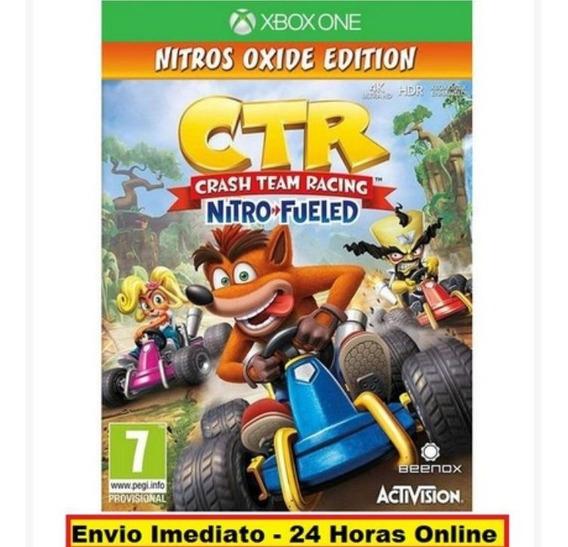 Xbox One Ctr Crash Team Racing Nitro Fueled