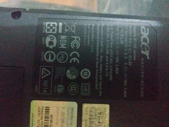 Notebook Acer Para Retirada De Peças Envio Para Todo Brasil