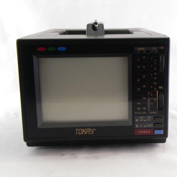 Tv Tokay Modelo Ctk 0510m Funcionando - Necessita Manutenção