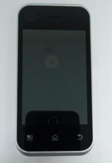 Celular Motorola Mb300 Prata C/ Avaria Sem Garantia