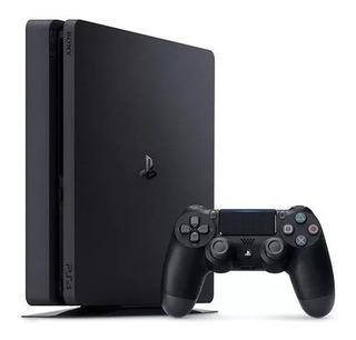 Play Station 4 Ps4 Slim Usada 500gb + Control + Juego