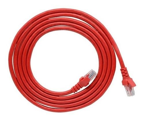 Cable De Red Cat 6e 5m Patch Cord Estándar Gigabit Ethernet