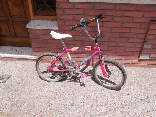 Bicicleta Nena Rodado 20 Imperdible