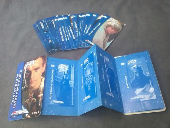 47 Pepsi Cards Star Wars Episodio I Y 1 Coleccionador