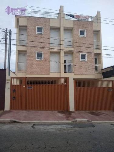 Apartamento Com 2 Dormitórios À Venda, 56 M² Por R$ 270.000 - Parque Novo Oratório - Santo André/sp - Ap1363