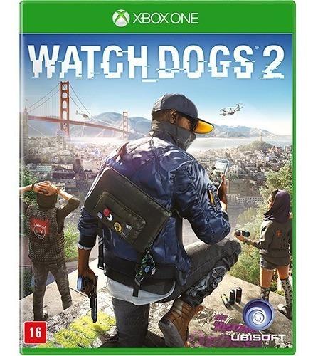 Watch Dogs 2 Xbox One - Mídia Física