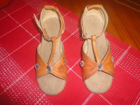 Zapatos De Baile (caracter - Danza Y Salsa) Ambos Talla 28