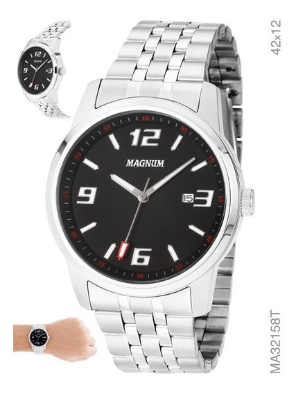 Relógio Analógico Social Masculino Magnum Ma32158t