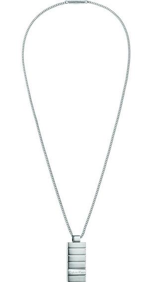 Plate Collar Calvin Klein Hombre Kj5smp080100