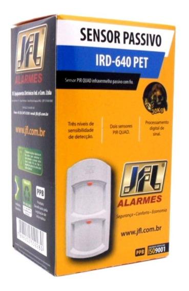 Sensor Infravermelho Passivo Ird-640 Pet 30 Kg Semi-externo