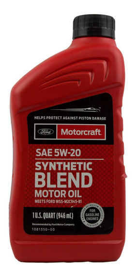 Aceite Motor 5w20 Ford Motorcraft 946 Ml