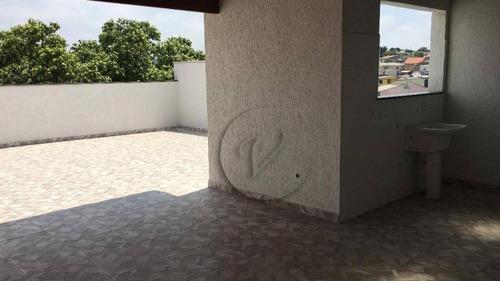 Cobertura Com 3 Dormitórios À Venda, 152 M² Por R$ 455.000 - Vila Francisco Matarazzo - Santo André/sp - Co0568