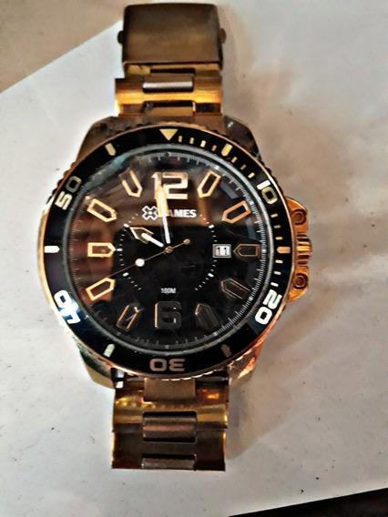 Relógio X Games Dourado Original