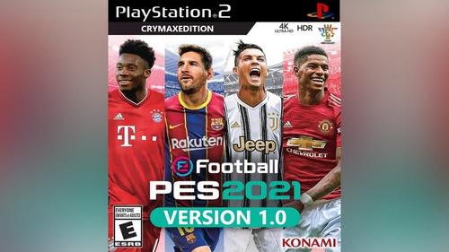 Pes 2021 Play 2 Versión Crymax Beta 1 Versión Septiembre