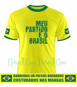 Camisa Bolsonaro Meu Partido É O Brasil