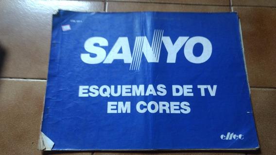 Esquema Eletrico Tvs Antigas Sanyo Cod 337 - 1