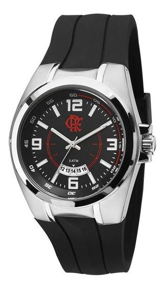 Relógio Technos Masculino Flamengo Fla2115kti/8r Aço Oficial
