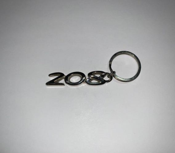 Llavero Peugeot 208