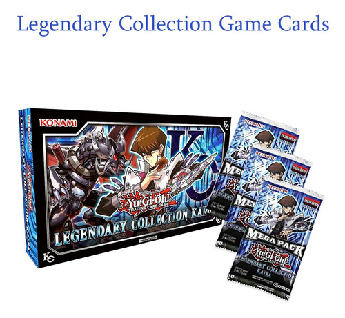 ¡yu-gi-oh! Legendary Collection Kaiba Game Cards 153pieza (