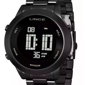 Relógio Lince Feminino Digital Black Sdph085l Pxpx Original