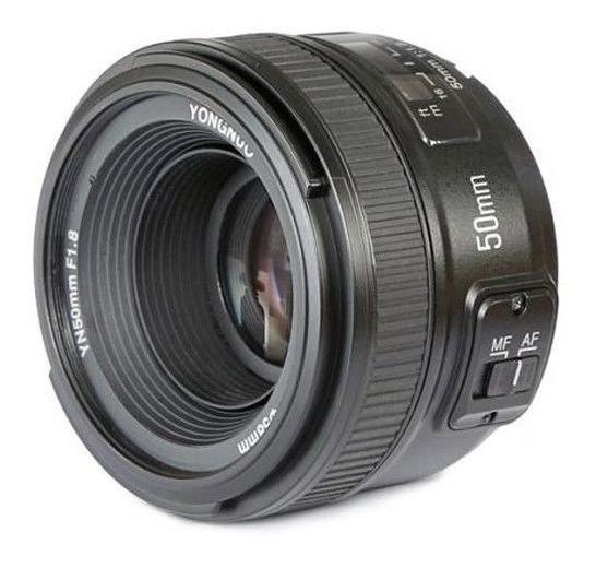 Lente Yongnuo Yn-50mm F/1.8 Para Nikon Ef