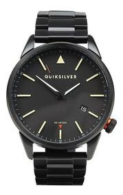 Relógio Quiksilver The Timebox Metal Importado Black