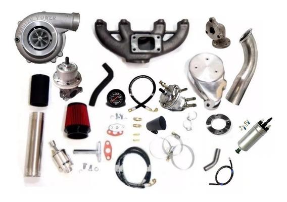 Kit Turbo Chevette C Motor Ap Carburado Mono Turbina .50 Mp