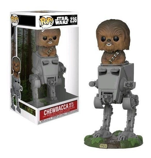 Funko Pop Star Wars - Chewbacca With At-st (25 Cm) Original