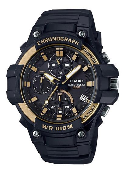 Reloj Casio Hombre Mcw-110h Maquina Crono Wr 100m, Envio Gra