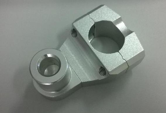 Adaptador Regulável 22,2mm Oxxy Alumínio Natural (riser)