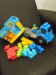 Camion Mega Blocks Incluye Minimo 12 Piezas Juguete Niño