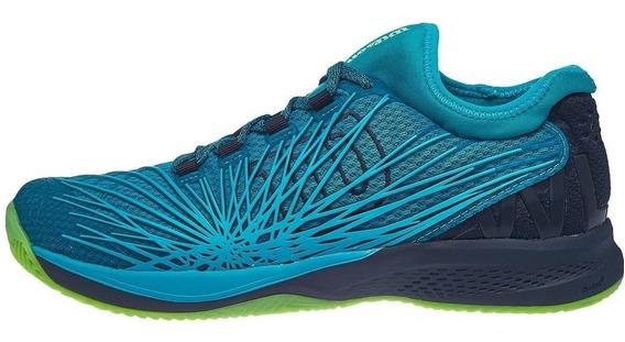 Zapatillas Hombre Wilson Kaos 2.0 Sft Azul/verde - Surtenis