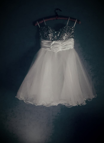 Vestido De Fiesta Importado De Usa Strapless