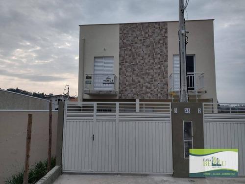 Casa Com 2 Dormitórios À Venda, 69 M² Por R$ 250.000,00 - Jardim Santo Antonio - Franco Da Rocha/sp - Ca0534