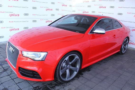 Audi Rs5 Coupe 4.2 450 Hp Rojo 2014
