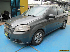 Chevrolet Aveo Emotion Mt 1600 Cc Aa 2ab Abs
