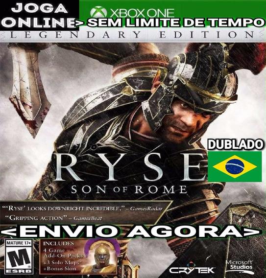 Ryse Son Of Rome Legendary Ed. Xbox One Online Digital Ptbr