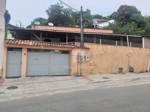 Imagem 1 de 24 de Casa À Venda, 228 M² Por R$ 690.000,00 - Rio Do Ouro - São Gonçalo/rj - Ca0552