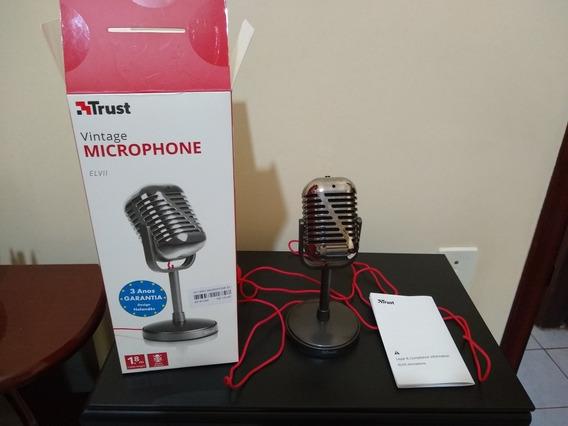 Microfone Elvii Desktop Marca Trust