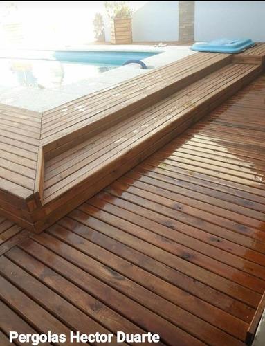 Pergolas Decks - Escaleras - Muebles- Todo Tipos De Madera