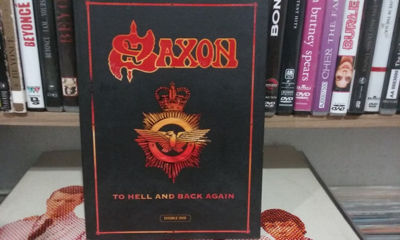 Dvd Saxon - To Hell And Black Again Duplo